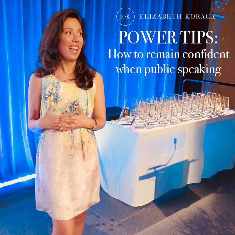 How to Remain Confident When Public Speaking